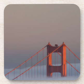 Fog rolls through the San Francisco bay covering Beverage Coasters