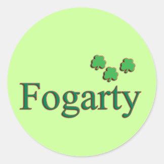 Fogarty Family Round Sticker