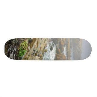 Foggy Beaches Ocean Skate Board Decks