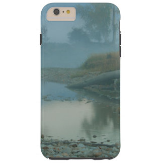 Foggy Bitterroot River Morning Design Tough iPhone 6 Plus Case