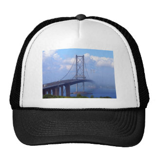 Foggy Bridge Trucker Hats