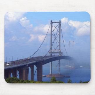Foggy Bridge Mouse Pad