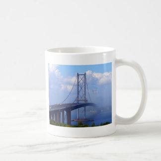 Foggy Bridge Coffee Mugs