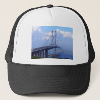 Foggy Bridge Trucker Hat