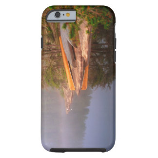 Foggy Canoe Campsite, Lake Kawnipi, Tough iPhone 6 Case