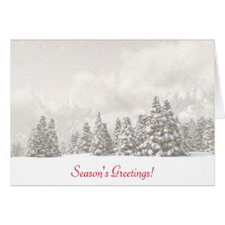 Foggy Christmas Eve Card