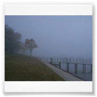 Foggy Day Tree Photo Print