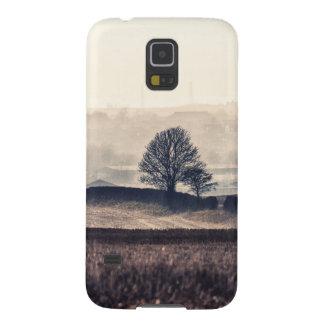 Foggy Fields Landscape Galaxy S5 Case