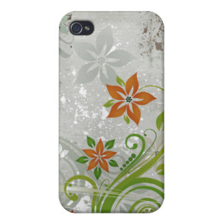 Foggy Floral iPhone 4 Case