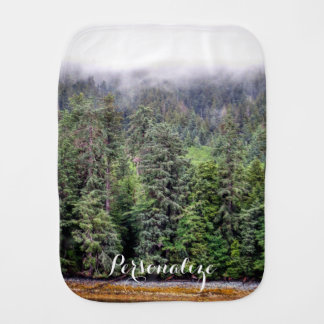 Foggy Forest Burp Cloth