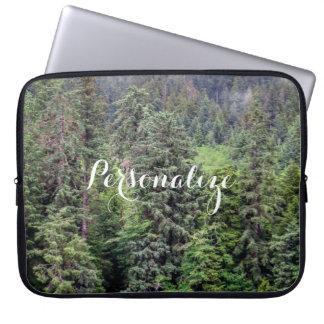 Foggy Forest Laptop Sleeve
