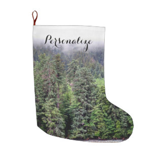 Foggy Forest Stocking