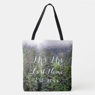 Foggy Forest Tote