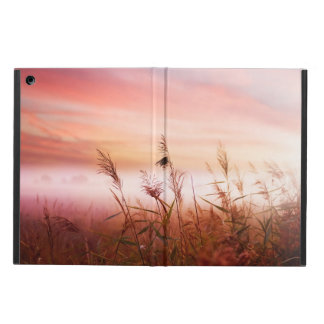 Foggy Landscape.Early Morning Mist. Cover For iPad Air