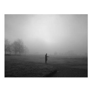 Foggy morning, Oxford Postcard
