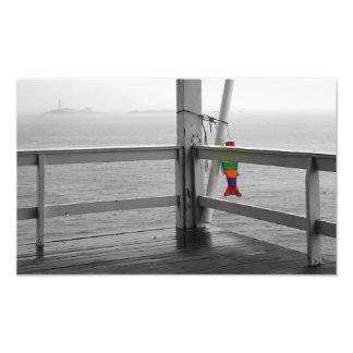 Foggy Oceanic View Photo Print