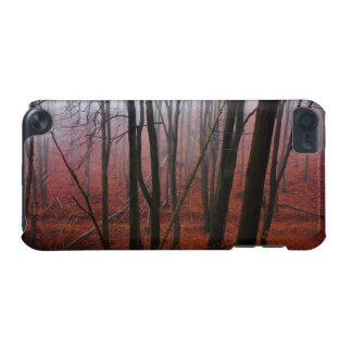 Foggy Red Forest iPod Touch 5G Covers