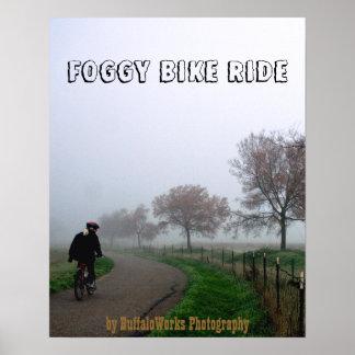 Foggy Rider Print