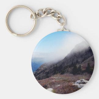 Foggy Seashore Key Ring