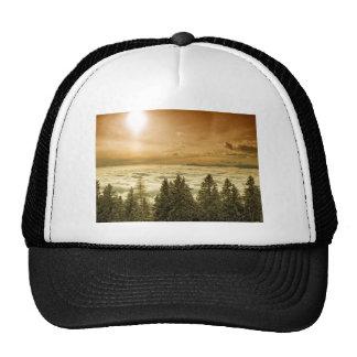 Foggy valley mesh hats
