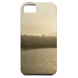 Foggy Whitby morning iPhone 5 Cases