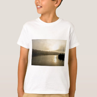 Foggy Whitby morning T-Shirt