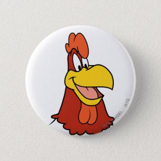 Foghorn Leghorn Closeup 6 Cm Round Badge