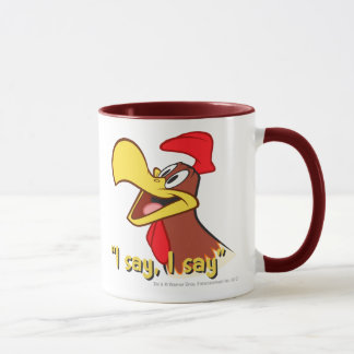 Foghorn Looking Up Mug