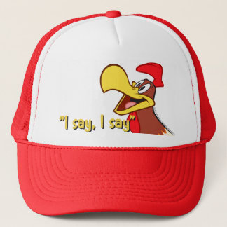 Foghorn Looking Up Trucker Hat