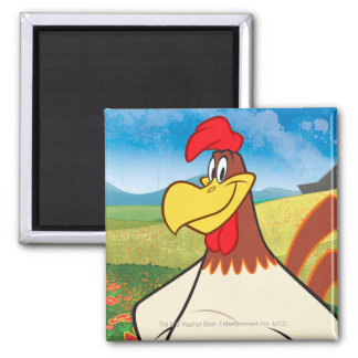 Foghorn Standing Square Magnet