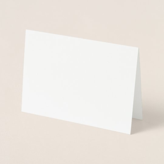 Foil Card, Standard (12.7 x 17.8 cm)
