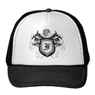 Foil Crest Fencing B&W Hat