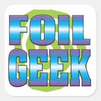Foil Geek v3 Sticker