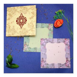 Foil Stamping on Matt Paper | IndianWeddingCards Card