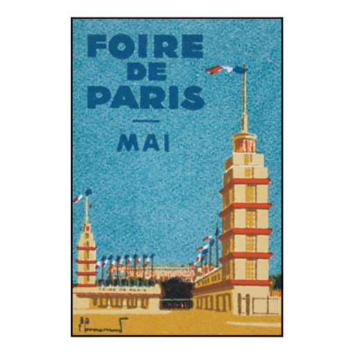 Foire De Paris Poster