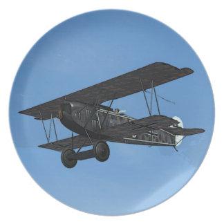 Fokker D.VII Plate