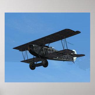 Fokker D.VII Poster
