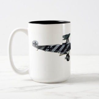 Fokker DR1 239/17 Mug! Two-Tone Coffee Mug