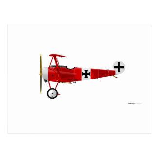 Fokker DR-1 Triplane Postcard