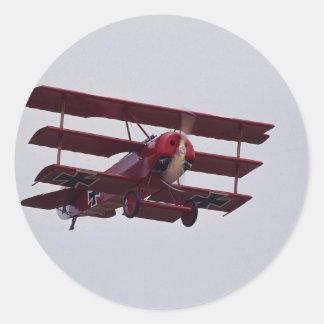 Fokker DR 1 Triplane Stickers
