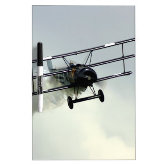 Fokker triplane dry erase whiteboard