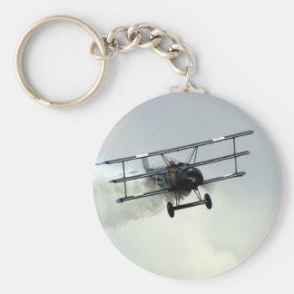 Fokker triplane key chain