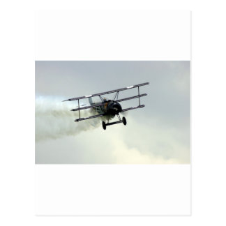 Fokker triplane postcard