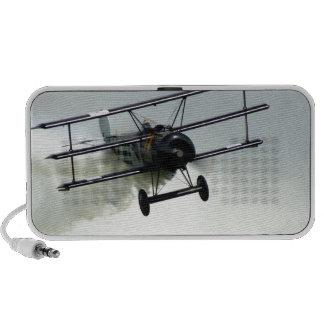 Fokker triplane travelling speaker