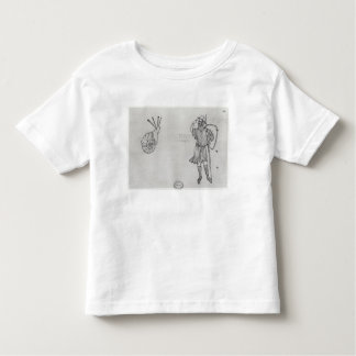 Fol.2 Snail and Hungarian soldier Toddler T-Shirt