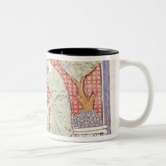 Fol.59r September: The Harvest Two-Tone Coffee Mug