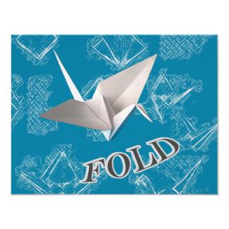 Fold 11 Cm X 14 Cm Invitation Card