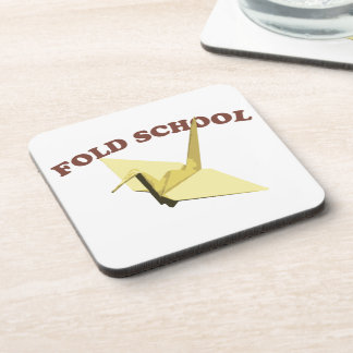 Fold School Origami Beverage Coaster