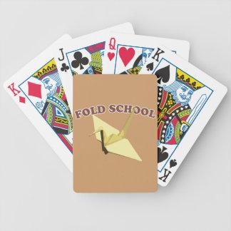 Fold School Origami Bicycle Card Deck