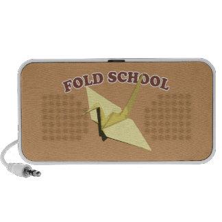 Fold School Origami iPhone Speaker